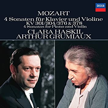 Mozart: 4 Violin Sonatas for Piano and Violin, Nos.18, 21, 24 & 26