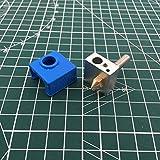 XBaofu 1pcs CTC / MK8 Hotend Kit de 0,4 mm Boquilla de PTFE Tubo En interrupción de Calentador de 1.75mm con el Calentador de Silicona Bock calcetín