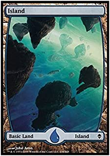 Magic: the Gathering - Island - Full Art (234) - Zendikar
