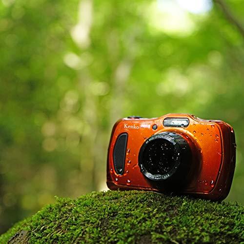 KenkoデジタルカメラDSC200WP防塵・防水IP582016万画素光学4倍ズーム1m耐衝撃オレンジ438589