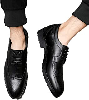 [PIRN] ビジネスシューズ 外羽根 ウイングチップ 冠婚葬祭 通学 通勤 結婚式 新生活 卒業式 就職 就活 オシャレなビジネスマンに向け オールマイティに使える 幅広設計 こだわりのインソール オシャレ メンズ 革靴 シューズ