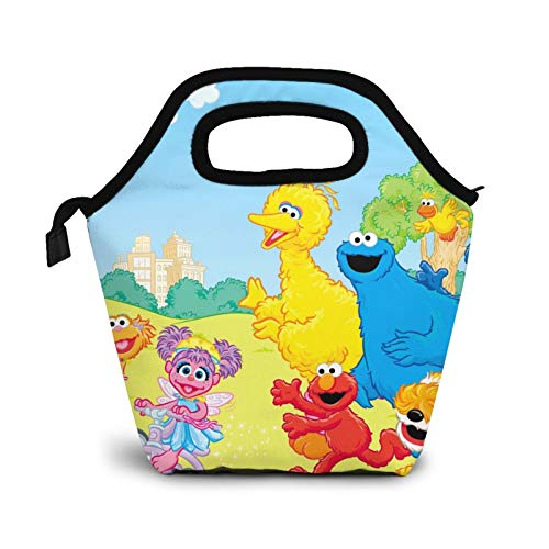 Se-same Lunch Bag Cooler Tote Box Meal Prep for Girls,Kids,School,Office,Beach,Picnic