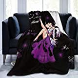 Oneposy Super-Soft Be-Tty B-OOP Blanket,Sofa Bed Blanket, Suitable for Birthday for Friends and Relatives 50'X40'