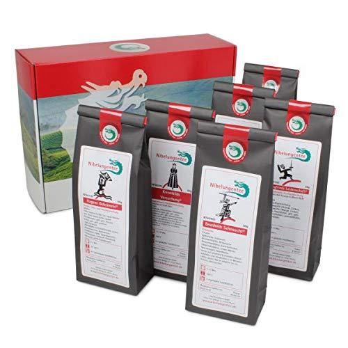 Geschenkset Premium Nibelungentee Edition (6 x 50g Tee)