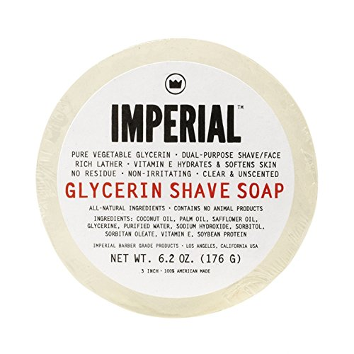 Imperial Barber - Glycerin Shave & Face Soap