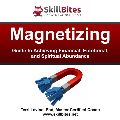 Magnetizing: Guide to Achieving Financial, Emotional, and Spiritual Abundance                   By:                                                                                                                                 Terri Levine Ph.D.                               Narrated by:                                                                                                                                 Dale McConachie                      Length: 25 mins     5 ratings     Overall 5.0