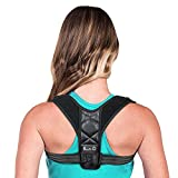 Geradehalter zur Haltungskorrektur für eine Gesunde Haltung, ideal zur Therapie für haltungsbedingte Nacken, Rücken und Schulterschmerzen Damen Herren -