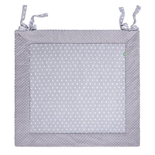 LULANDO weich gepolsterte Krabbeldecke Spieldecke Decke. Weiche und praktische Spielmatte Spielunterlage für Ihr Baby in drei verschiedenen Größen erhältlich