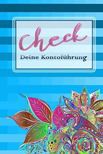 check Deine Kontoführung: Meine Kontoführung im Überblick mit dem Kontoführungs Buch | Debitorenbuchhaltung | Buchhaltungsbuch | EÜR