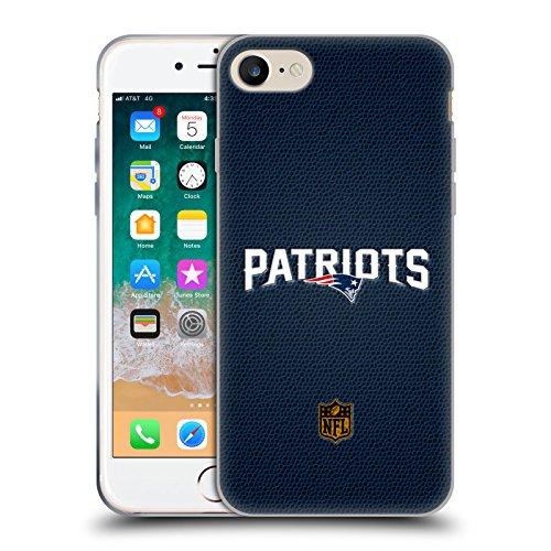 Preisvergleich Produktbild Head Case Designs Offizielle NFL Fussball New England Patriots Logo Soft Gel Huelle kompatibel mit iPhone 7 / iPhone 8