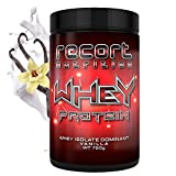 Whey Protein (Vanille), Premium Protein-Shake mit 83% Eiweiß für Muskelaufbau und Abnehmen, Kurzes MHD!!