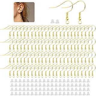 Cute Heart Bangel Earrings\uff08Ring\uff09 Jewelry Making  Matte Gold Plated Brass  925 Sterling Silver Post  2pcs  eso106