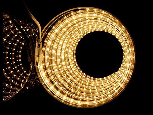 LED Streifen Warmweiß | LED Dimmbar | LED Band Slim | LED Lichtband außen | Wasserdicht nach IP68 | Energiesparend |20m
