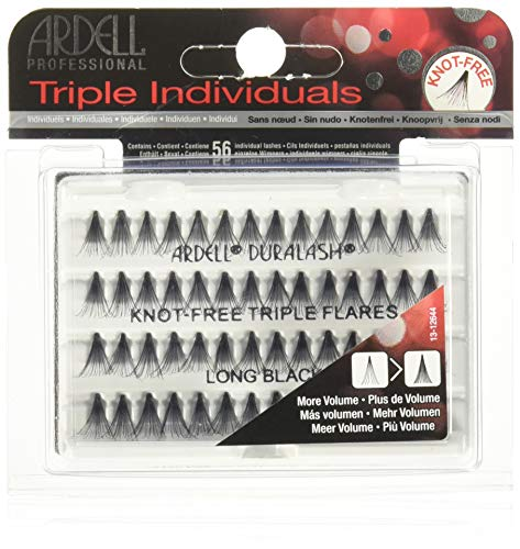ARDELL Triple Individuals Knot-Free Long Black, 25 g