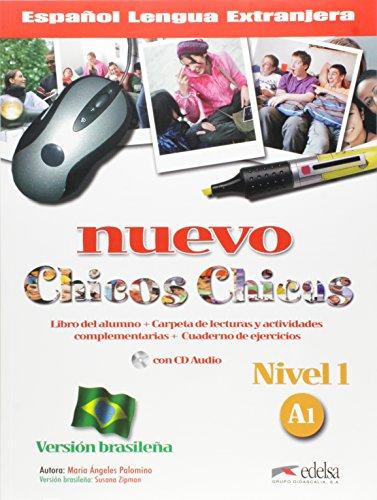 Nuevo chicos chicas 1 - A1 - libro del al.+ ej. + CD- Version brasilena