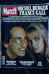 PARIS MATCH N° 2255 13 AOUT 1992 FRANCE GALL Cover MICHEL BERGER LA DERNIERE INTERVIEW MARILYN MONROE