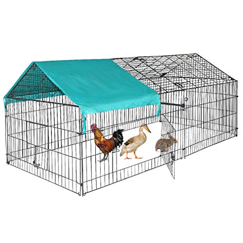 BestPet Chicken Coop Chicken Cage Pens Crate Rabbit Cage Enclosure Pet Playpen Exercise Pen