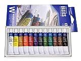 Artist W1212E - Pack de 12 tubos de acuarela, multicolor