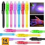 MMTX 14pcs Petit Cadeau Anniversaire Enfants Crayons à Encre Invisible avec Lumière...
