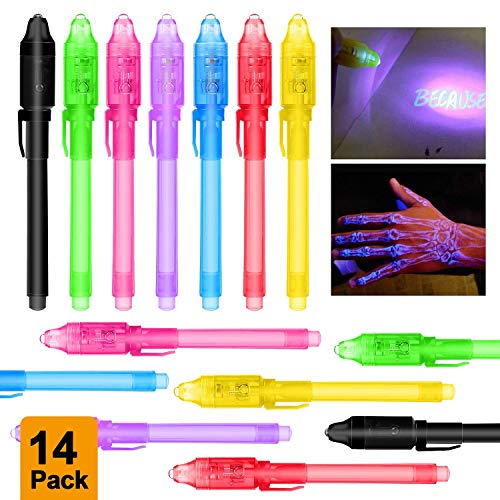 MMTX 14pcs Petit Cadeau Anniversaire Enfants Crayons à Encre