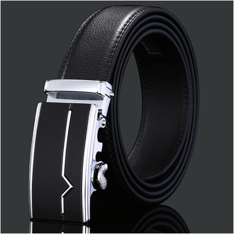 New product! New type Xhwyf Men's Belt Leather Suitable Max 68% OFF Buckle Cowhide Automatic