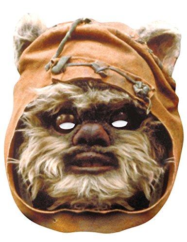 Generique - Star Wars-Pappmaske Ewok braun