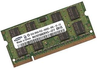 Samsung - Módulo de memoria DDR2-800 (PC2-6400, 128Mx8x16, 2GB, 200 pines, doble canal)