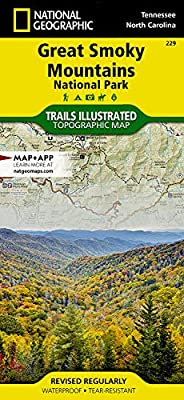 Great Smoky Mountains National Park (National Geographic Trails Illustrated Map, 229) by National Geographic Maps