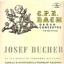E. Power Biggs Bach Organ Favorites Volume 6 / Concerto in G Major, after Johann Ernst (BWV 592) / Trio sonata no. 5 in C major (BWV 529) / Trio sonata no. 1 in E-flat major (BWV 525) / Concerto in A minor, after Antonio Vivaldi (BWV 593)