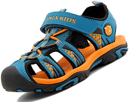 Sandalias para Niño Verano Casual Sandalias de Zapatillas de Trekking y Senderismo Sandalias de Playa Azul Oscuro Gr.34