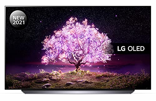 LG OLED48C14LB 48 inch 4K UHD HDR Smart OLED TV (2021 Model) with Advanced ?9 Gen4 AI processor, 4K SELF-LIT OLED, Dolby Vision IQ and Dolby Atmos, built-in Google Assistant and Alexa