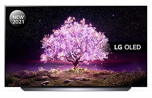 LG OLED48C14LB 48 inch 4K UHD HDR Smart OLED TV (2021 Model) with Advanced α9 Gen4 AI processor, 4K...
