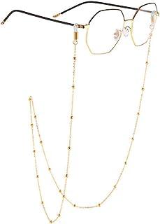 c99d5b366f Susulv-JE Collier Chaînes de Lunettes Titulaires Chaînes de Cordon de  Lunettes pour Femmes Perles