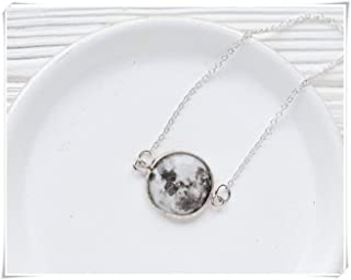 custom date moon phase necklace