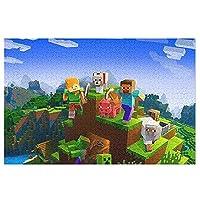 マインクラフト Minecraftジグソーパズル200/300/500/1000ピース人気アニメ 壁画 を飾る ポプラ製パズル 大人 ストレスを解消する子供 手の脳の協調能力を調節する益智玩具で 大人と子供の感情を交流する親子ゲームですパズル