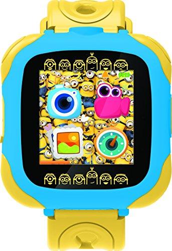 Gru: Mi Villano Favorito Minions Reloj-cámara, Color Amarillo (Lexibook DMW100DES)