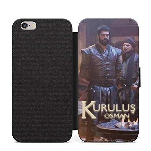 Ertugrul Bey & Kurulus Osman Leather Flip Phone Case Cover with Card Wallet For iPhone XR