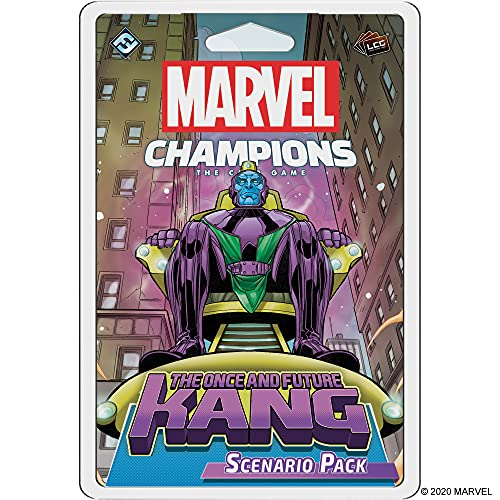 Marvel Champions The Card Game The Once and Future Kang SCENARIO PACK | Strategy Card Game for...