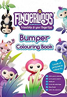 Fingerlings Bumper Colouring Book