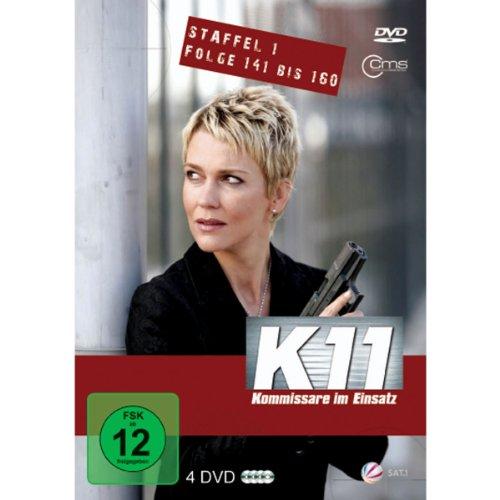K11 Kommissare im Einsatz Staffel 1 Folge 141 bis 160 [4 DVDs]