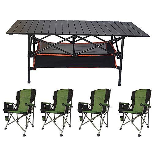 XIN XIN Schwarzer Klappbarer Esstisch Geeignet Für Camping Im Freien Wohnzimmer Computerraum Küchentisch