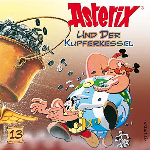 Asterix und der Kupferkessel Titelbild