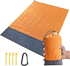 OnceNext Large Picnic & Outdoor Mat, Beach Blanket, Foldable Portable Travel Accessories, Family Camping Hiking Mat, Water...