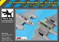 ブラックドッグ A72051 1/72 デ ハビランド モスキート Mk VI セット N°2 (タミヤ用)