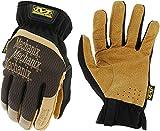 Mechanix Wear: DuraHide FastFit Leather Work Gloves (Large, Brown/Black)