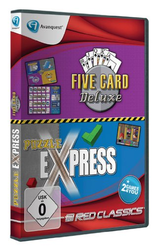 Red Classics - 5 Card Deluxe & Puzzle Express