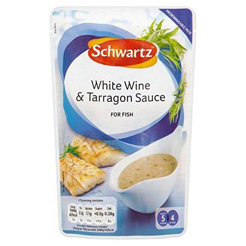Schwartz Weißwein & Estragon Sauce für Fische 300 g (6 Stück)