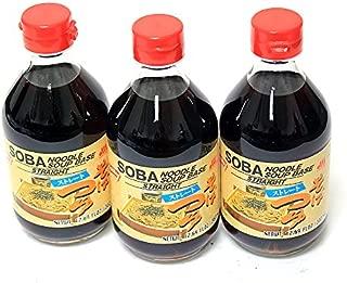 Shirakiku - Soba Noodle Soup Base (Tsuyu) 12.17 Fl. Oz. (3 Pack)