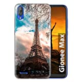 Fashionury Printed Soft Silicone Designer Pouch Mobile Back Cover for Gionee Max Case and Covers | for Boys & Girls -P231