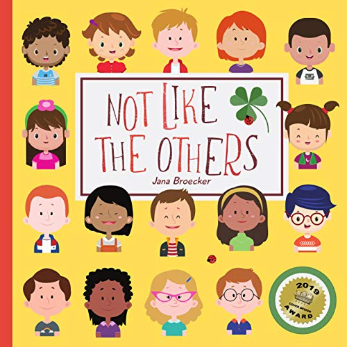Not Like The Others: A Hidden Picture Book About Diversity (UK Edition) (Another Found It 1)